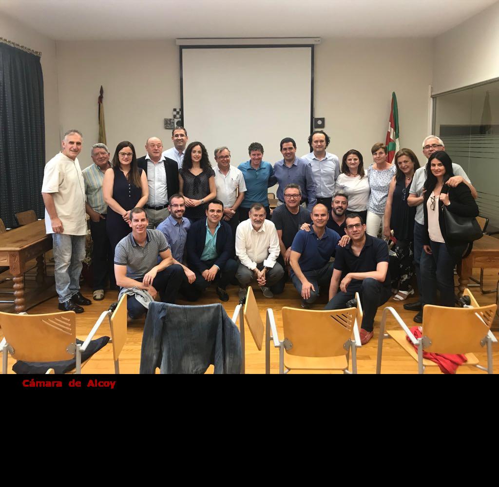 Cámara de Alcoy se reune con diferentes instituciones en la comarca del Goierri