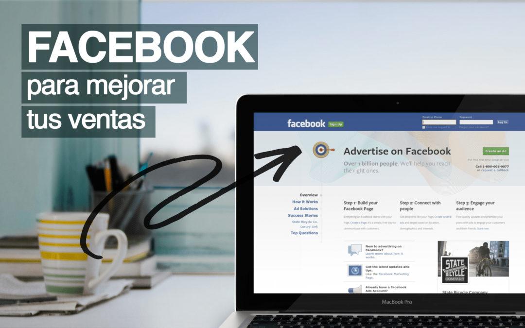 Facebook para mejorar tus ventas