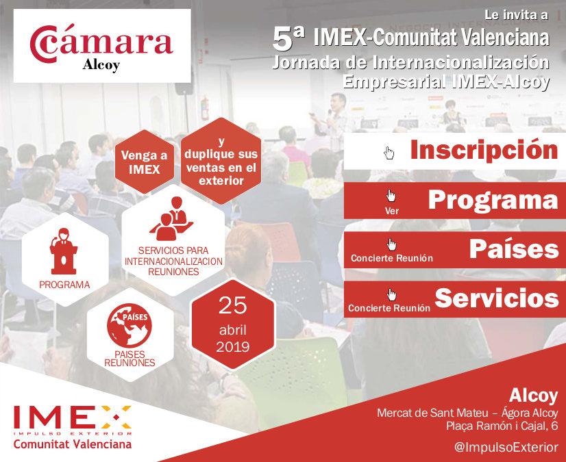 Jornada de Internacionalización IMEX-Alcoy